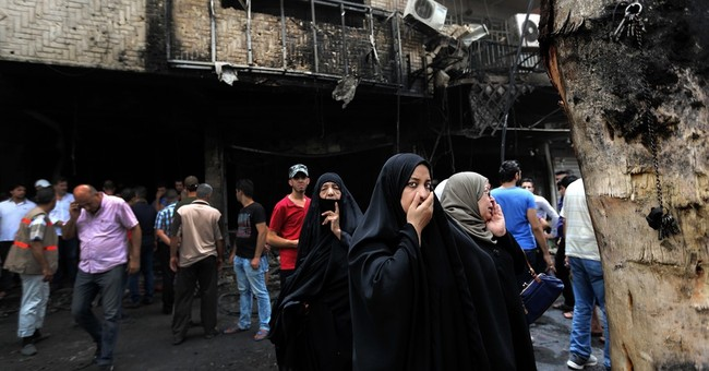 The Latest: Toll from Baghdad bombing climbs to 115