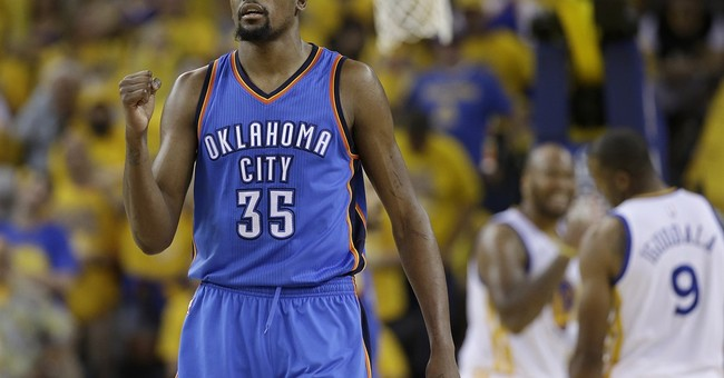 Durant's move to the Warriors changes the NBA land