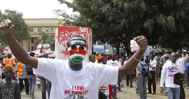 Hundreds protest against alleged police killings in Kenya
