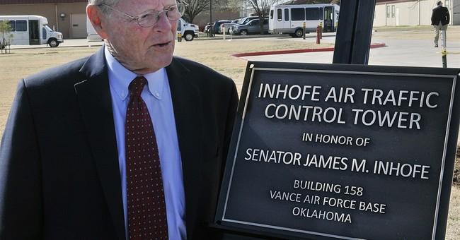 Sen. Jim Inhofe forced landing latest incident for the pilot