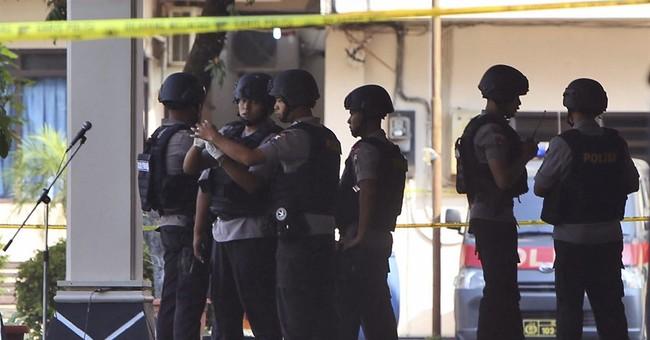 Suspected militant dies in Indonesia suicide bombing