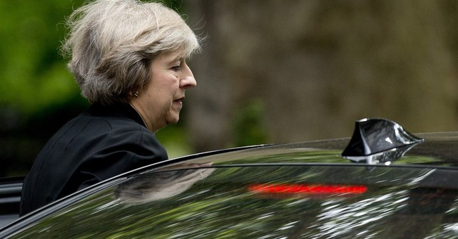 The Latest: Stephen Crabb pulls out of Tory leadership race