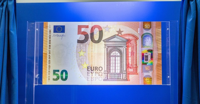 New 50-euro note unveiled to combat counterfeiting