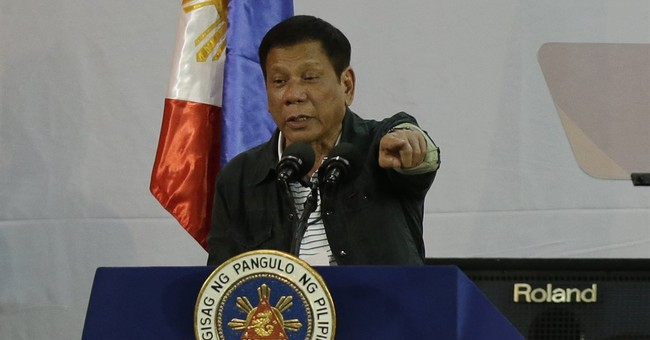 Philippine president accuses 5 police generals of drug links