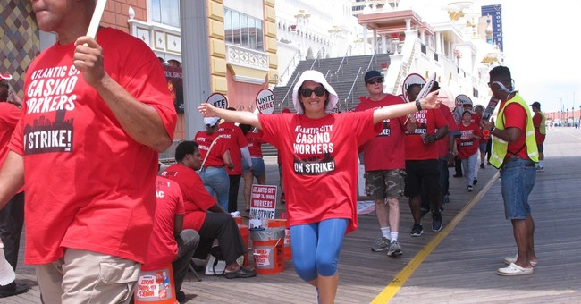 Clinton to bash Trump at site of Atlantic City casino strike