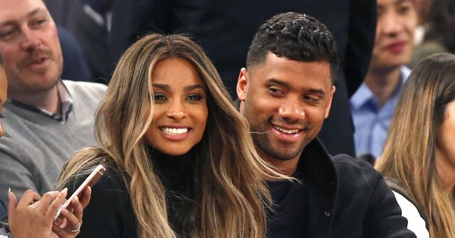 Singer Ciara, NFL player Russell Wilson tie the knot