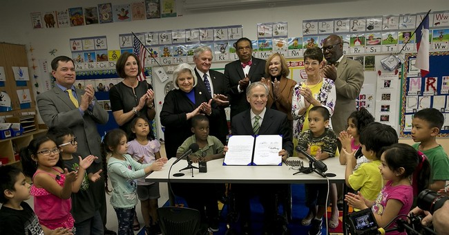 Texas governor's pre-K plan rebuffed by alma mater