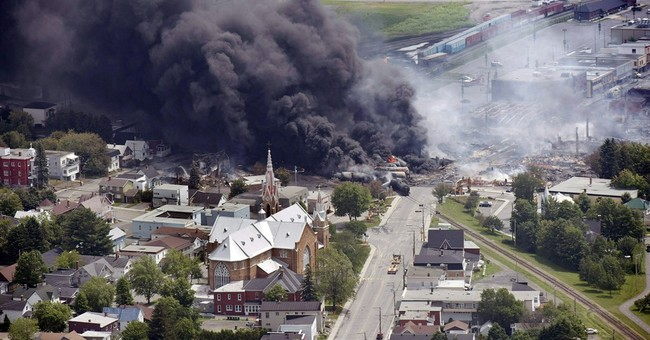 Quebec town ravaged by train fire wants rail to bypass it