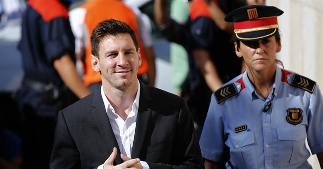 Messi given 21 months for tax fraud, likely to avoid prison