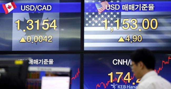 Stocks slump, pound slides, US 10-year yield at record low