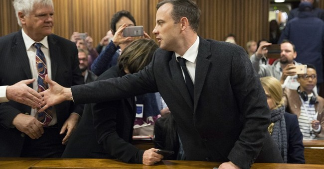 Oscar Pistorius sentenced to 6 years in prison for murder