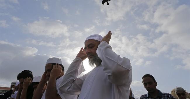 AP PHOTOS: Muslims celebrate Eid, marking Ramadan's end