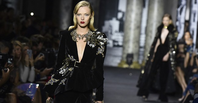 Paris couture reaches creative climax in Valentino, Saab