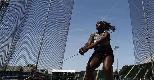 Campbell sets trials record, makes Olympics in hammer throw
