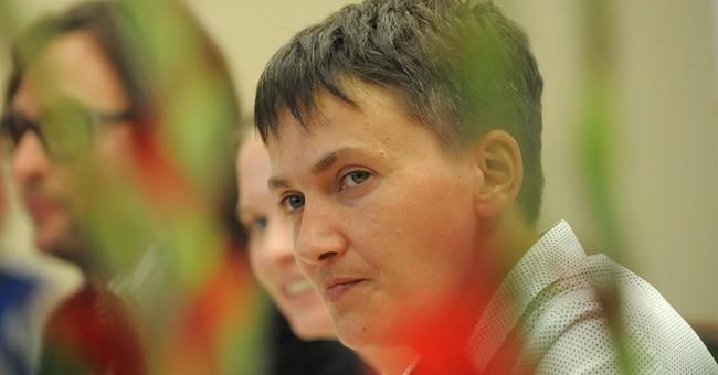 Ukraine's Savchenko thanks Poles for helping her freedom