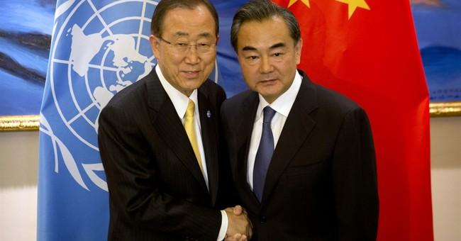 UN's Ban tells China civil society, free media are crucial