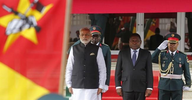 Indian prime minister kicks off 4-nation African visit