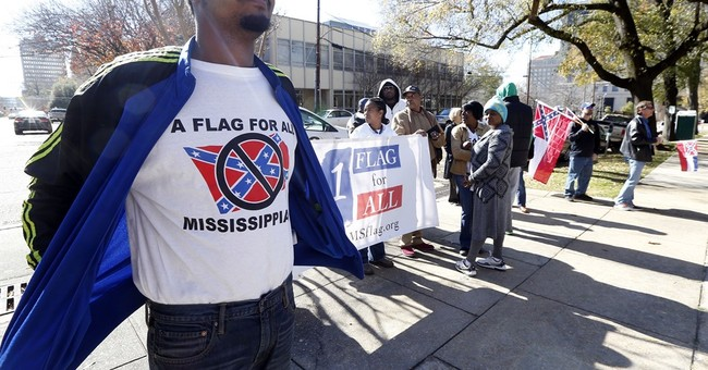 Rally calls for keeping Confederate emblem on state flag