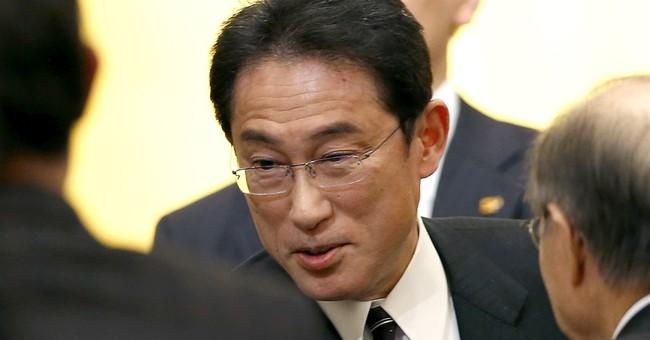 Japan FM says Russia key to resolving Syria, N. Korea issues