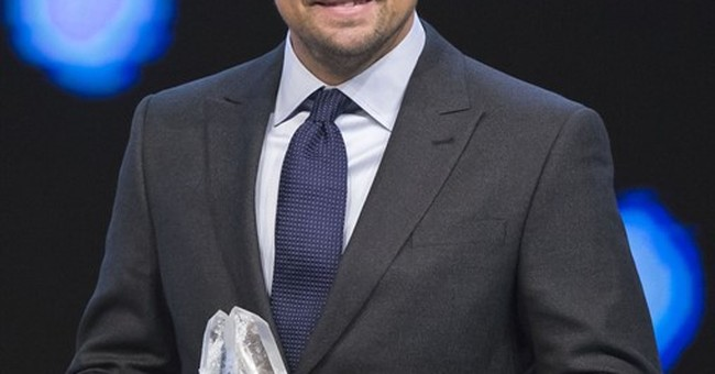 DiCaprio rips Big Oil at Davos confab of business leaders