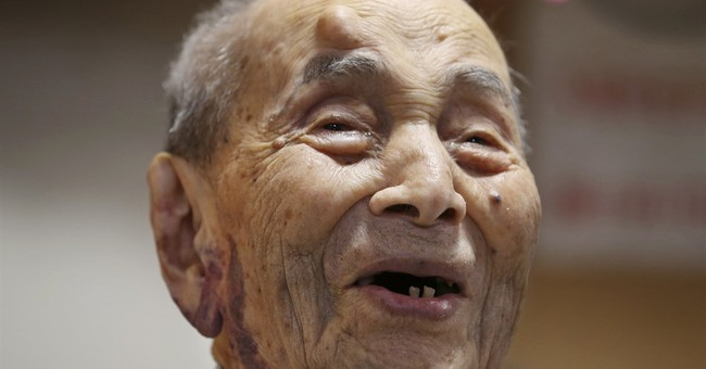 The world's oldest man, a Japanese, dies at age 112