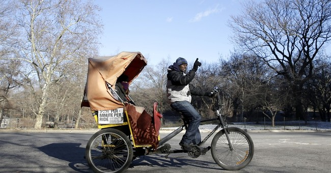 Deal to keep Central Park's horses would banish pedicabs