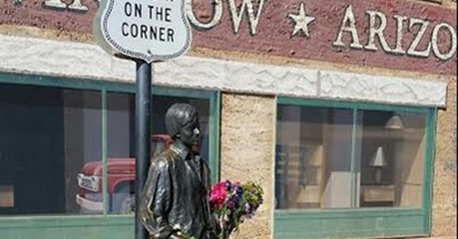 Arizona city made famous by Eagles song celebrates Frey