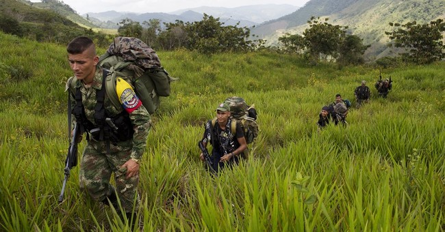 Deep in Colombian jungle, peace looms at rebel hideout