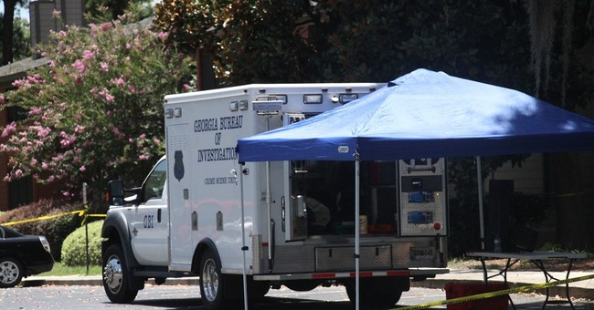 Authorities: 911 caller ambushed, shot officer in Georgia