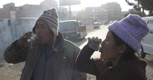 AP PHOTOS: Bolivians drink donkey milk for respiratory ills