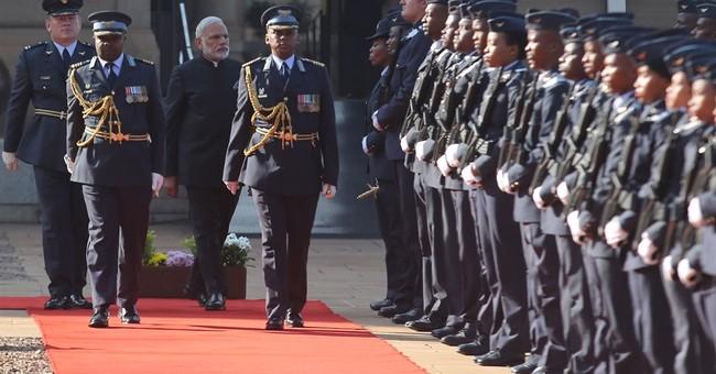 India's Modi meets South Africa's Zuma for trade talks
