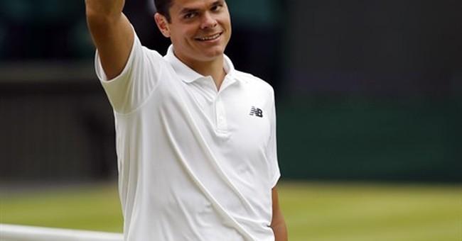 McEnroe will work Wimbledon final for TV as Raonic's coach