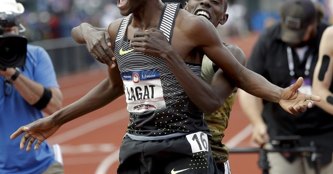 Not done yet. Lagat, Gatlin earn another trip to Olympics