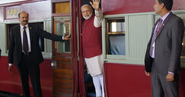 India's Modi marks Gandhi's historic South African ride