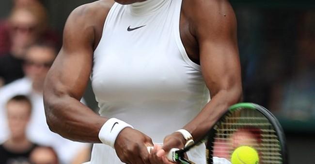 22! Williams tops Kerber at Wimbledon, ties Graf's Slam mark