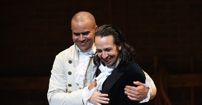Creator of the Broadway hit 'Hamilton' says goodbye, quietly