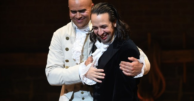 Creator of the Broadway hit 'Hamilton' says goodbye, quietly