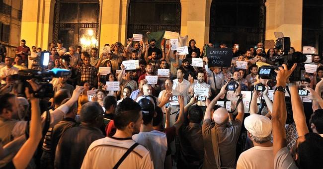 Algeria officialdom threatens nation's noisy, tell-all media