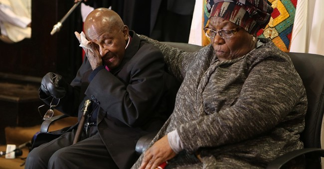 South Africa's Tutu celebrates 40 years of service as bishop