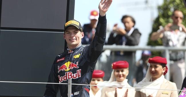 Delighted Verstappen wants to change his passport