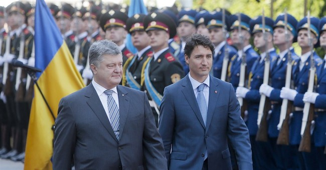 Canada's prime minister on visit to Ukraine