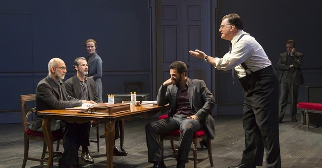 Review: Humor allays tension to complex history in 'Oslo'