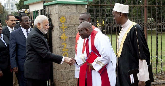 Indian PM in Kenya on last leg of 4-nation African tour