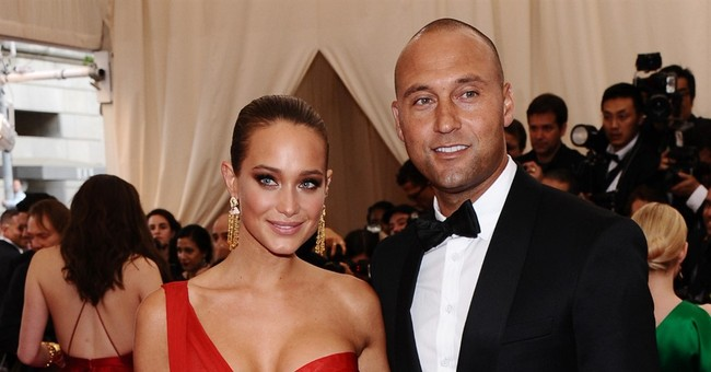 Derek Jeter marries Sports Illustrated model Hannah Davis