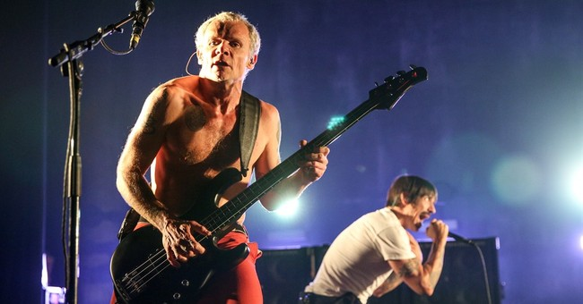 Red Hot Chili Peppers autograph Metallica items after mix-up