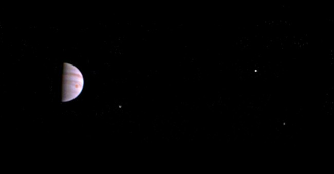 NASA's Juno spacecraft beams first pictures from Jupiter