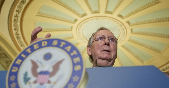 "McConnell says ""slim"" chance of vote on trade deal in 2016"