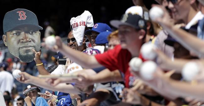 The Latest: Hosmer, Perez lead 4-2 AL win in All-Star Game