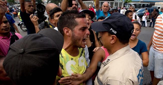 Venezuelans spend life on the line amid economic crisis