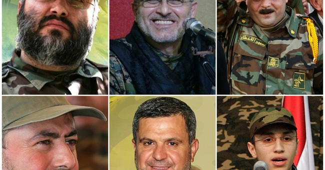 A look at senior Lebanese Hezbollah figures killed in Syria